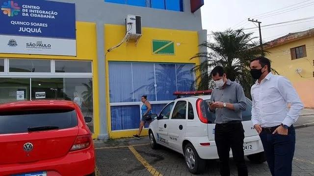 Coordenadores do Vale do Futuro  visitam as instalações do CIC Juquiá