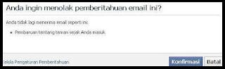 cara untuk berhenti berlangganan email