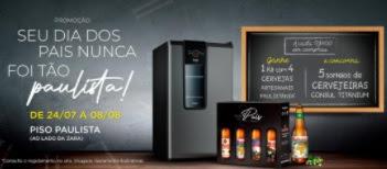 Promoção Dia dos Pais Pátio Paulista 2021 Shopping