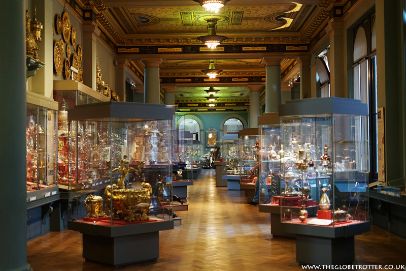 The Victoria and Albert Museum in London