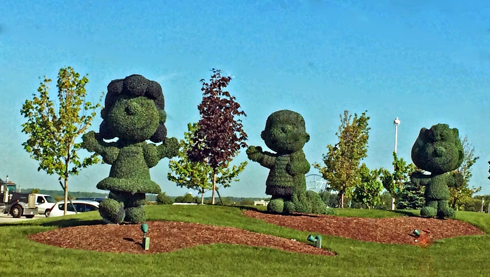Topiaries Charlie Brown