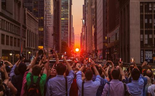 Happy New Year 2016 Quotes Wallpapers Manhattanhenge Photography