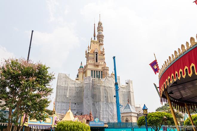 [Hong Kong Disneyland] Castle of Magical Dreams (2020) - Page 10 HKMSG_Hong_Kong_Disneyland_Castle_of_Magical_Dreams_Transformation_Construction_190928_25