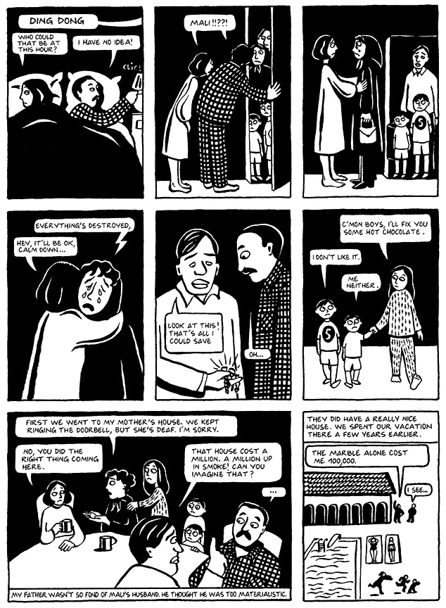 Read Chapter 12 - The Jewels, page 88, from Marjane Satrapi's Persepolis 1 - The Story of a Childhood