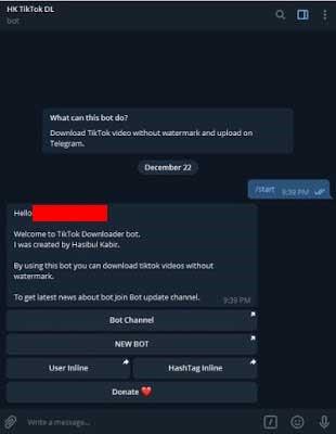 Cara Download Video Tiktok Tanpa Watermark di Telegram 100% Berhasil