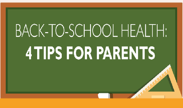 Back-to-School Health: Tips for Parents #infographic