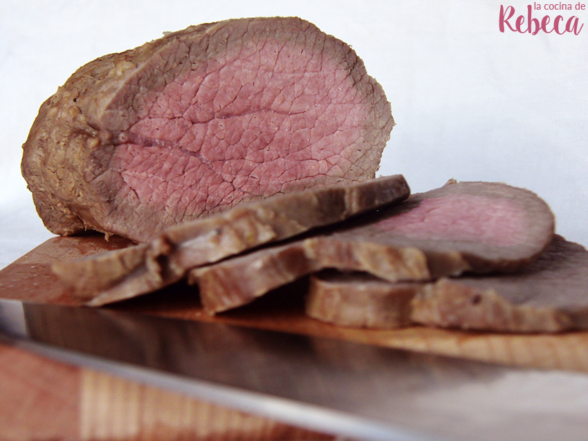 La cocina de rebeca redondo de ternera asado - Como rellenar un redondo de ternera ...