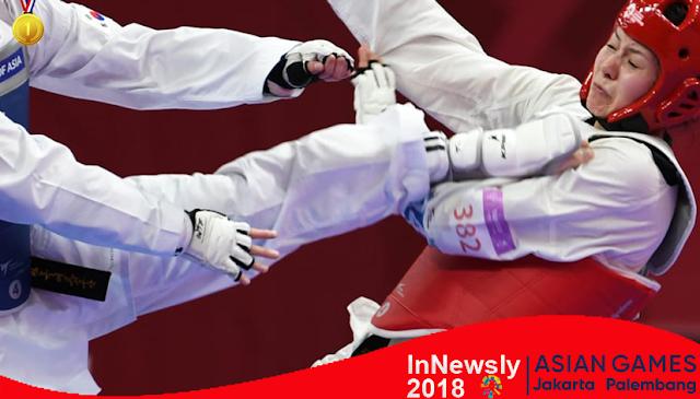 Korea raih juara umum taekwondo di Asian Games Indonesia