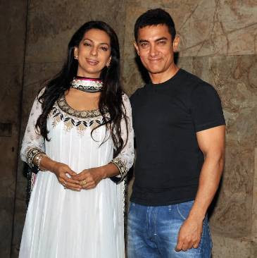 Why didn't Aamir Khan talk to Johi Chawla for seven years?