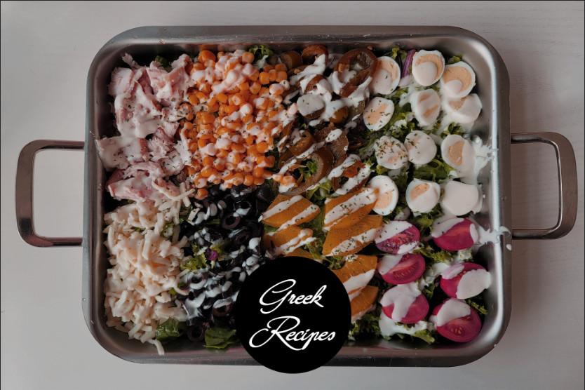 Cobb Salad Sausage Lettuce Wraps