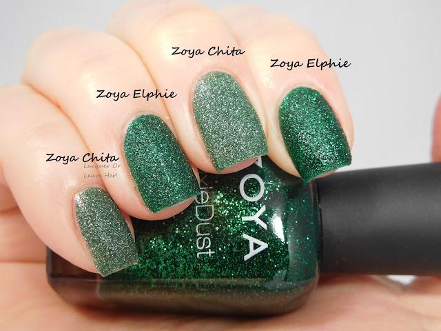 Zoya Chita vs. Zoya Elphie