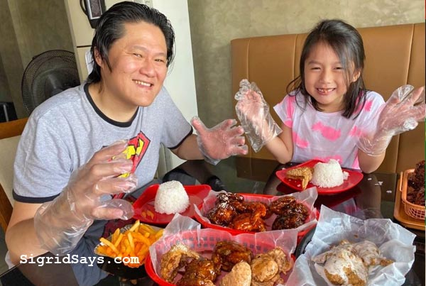 grandmothers, grandma, grandmother, Grandma's Unli-wings Bacolod, unli-wings, chicken wings, fried chicken wings, unli fried chicken wings, Bacolod restaurant, Shawarma Habibi, Hi-Strip 3, Grandma's Unli-wings Bacolod location, unli-wings prices, unli-wings flavors, big servings, where to eat in Bacolod, Bacolod blogger, no sharing, no leftover, environment-friendly, plastic gloves, eat with hands, Pan-Asiatic, unli-fries, bottomless iced tea
