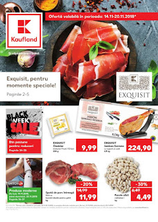 Kaufland Black Friday 14 noiembrie - 20 noiembrie 2018