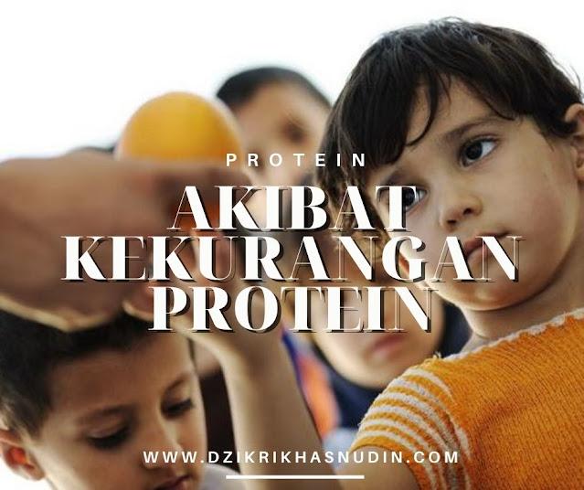 akibat kekurangan dan kelebihan protein