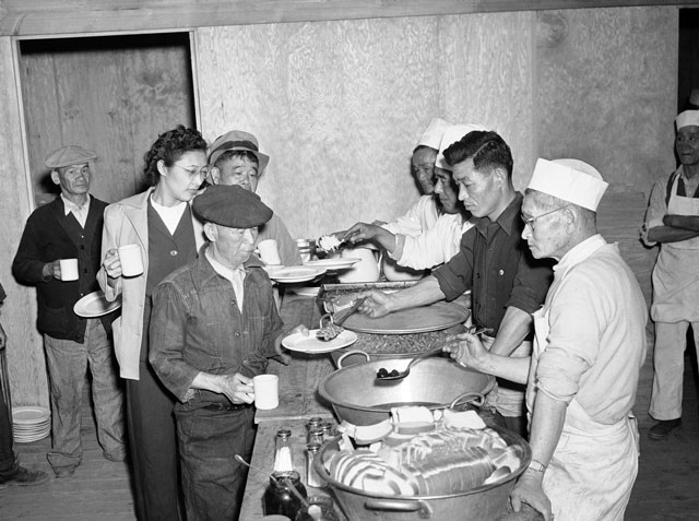 Manzanar Internment camp, 23 March 1942 worldwartwo.filminspector.com