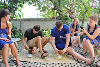 Thai Cooking Class Making Fresh Coconut Milk