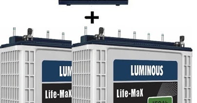 Luminous, Exide, Amaron Inverter battery