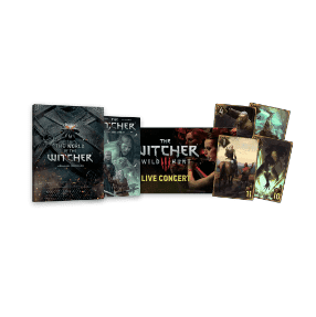 Free, The Witcher Enhanced Edition (PC Digital Download) + 2 eBooks + 4 GWENT Cards
