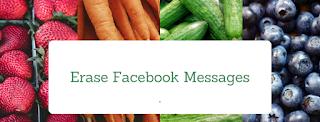 erase facebook messages