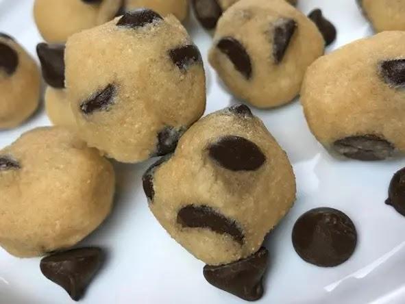 Cookie Dough Fat Bombs Keto Recipe