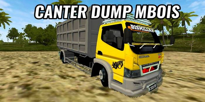 mod bussid canter mbois