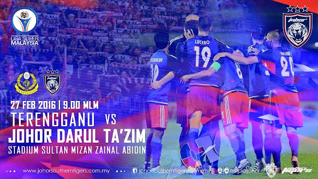 Live Streaming Terengganu vs JDT 27 Februari 2016