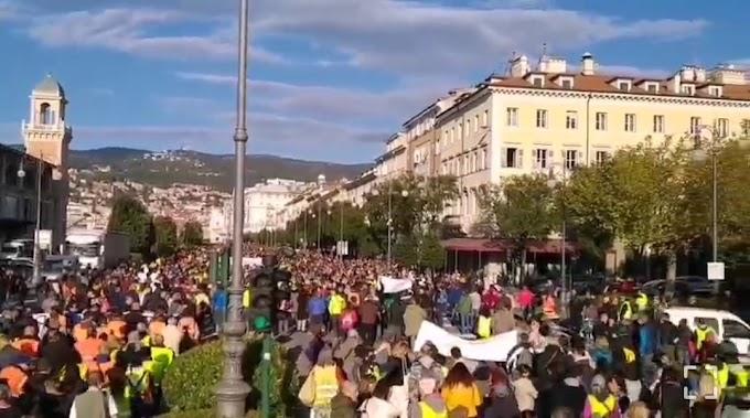 Trieste, i portuali annunciano battaglia contro il Green pass