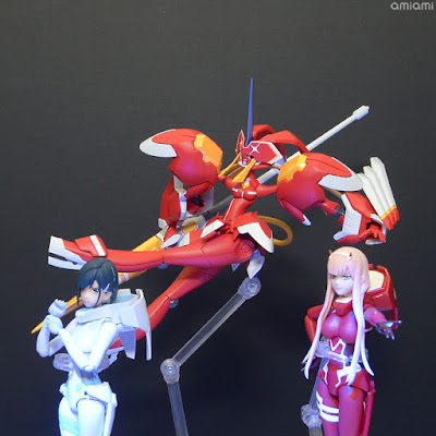 "Strelitzia XX (KISS) Robot Spirits de ""Darling in the Franxx"""