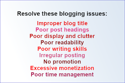 blogging success tips: avoid mistakes