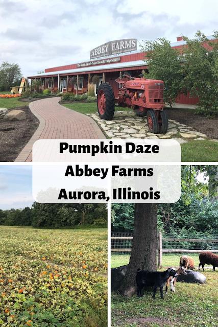 Pumpkin Daze on the Farm at Abbey Farms in Aurora, Illinois