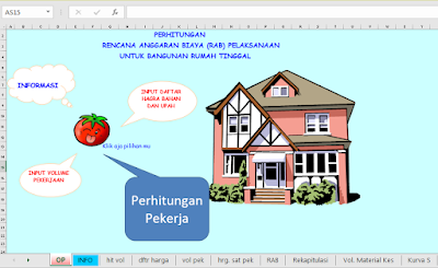 Aplikasi Excel Untuk Menghitung RAB Lengkap Dengan Kurva S dan Time Schedule gratis
