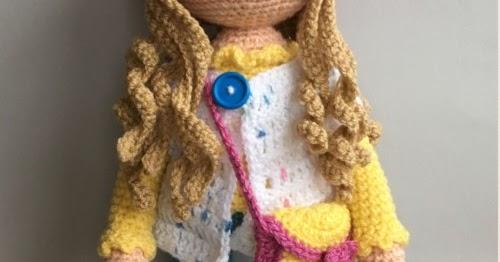 Amigurumi Molly Doll-Free Pattern | Crochet dolls free patterns ... | 262x500