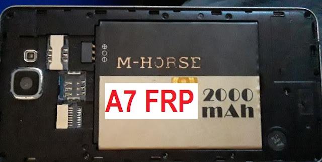 M Horse A7 hard reset
