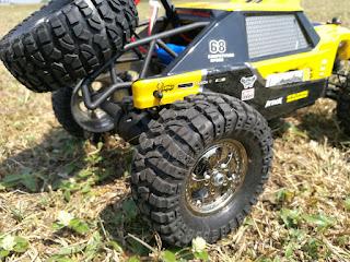 HBX 12889 Thruster Truck rear wheels