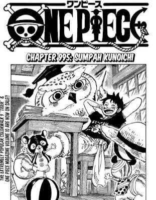 Update! Baca Manga One Piece Chapter 995 Full Sub Indo