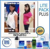 Smart Detox Fat Loss Bakar Lemak Paket 10 Hari Tanpa Lapar