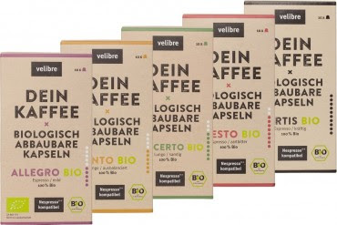 Velibre Kaffee - Probierpaket