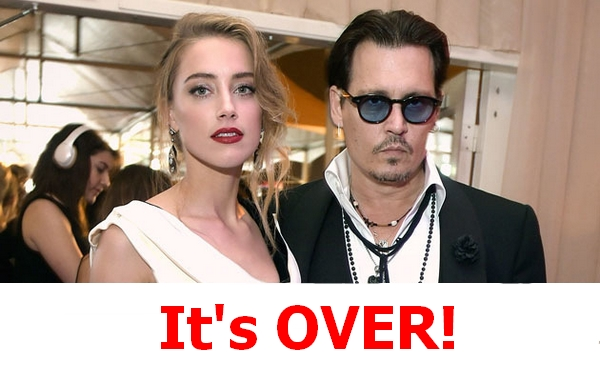 Johnny Depp and Amber Heard doivorcing