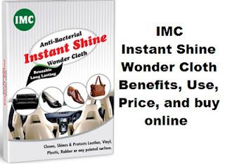imc instant shine wonder cloth