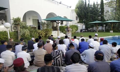 Perayaan Hari Raya Idul Adha di KBRI Tunis