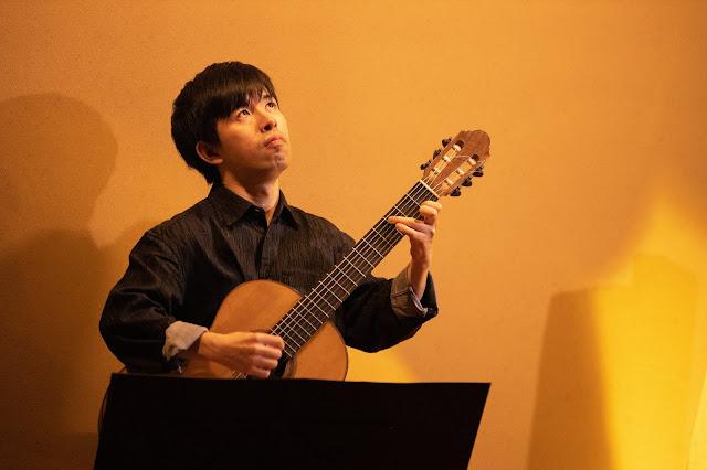 目白庭園での五十嵐紅によるクラシックギターコンサート「ギターと静寂」