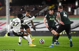 Peter Crouch criticise VAR as Fulham fans fume over Lemina handball decision