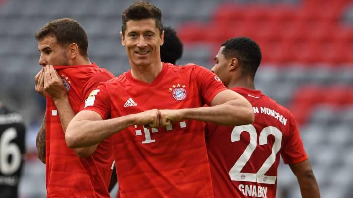 موعد مباراة بايرن ميونخ وباير ليفركوزن اليوم 04-07-2020 في كأس ألمانيا