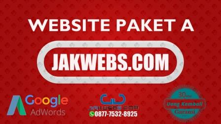 web paket a jakwebs, pesan website murah, paket website murah