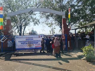 Vaksinasi Covid - 19 di KSOP Cirebon Tembus Target Peserta