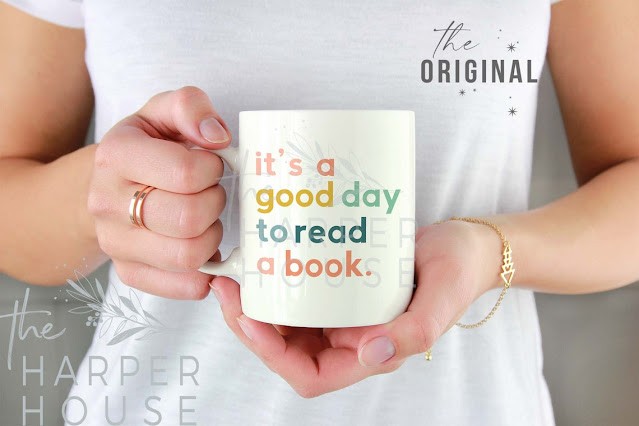 It's a good day to read a book coffee mug!