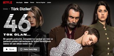 Netflix Türkçe Dublaj Olmayan ve İzlemediğim Diziler Serisi