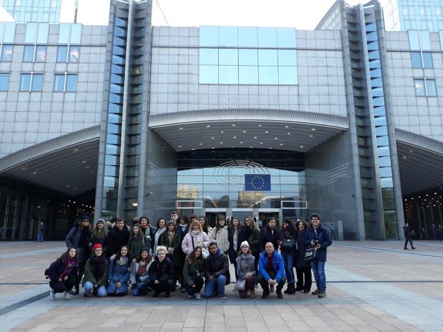 Άρτα: Μουσικό Σχολείο - 3η συνάντηση Erasmus+ μαθητών και καθηγητών στις Βρυξέλλες