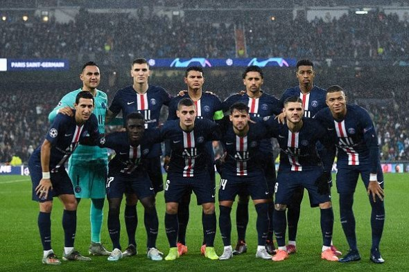 مباراة باريس سان جيرمان أمام رين الدوري الفرنسي