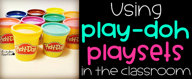Using Play-Doh Playsets in the Classroom